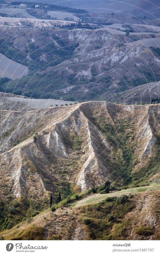Cretaceous. Art Esthetic Landscape Land Feature Mountain Structures and shapes Territory Italy Nature Far-off places Colour photo Subdued colour Exterior shot