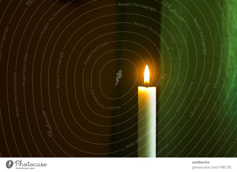 Christmas & Advent Winter Loneliness Room Lighting Candle Romance Peace Thin Living or residing Cloth Burn Drape Banquet
