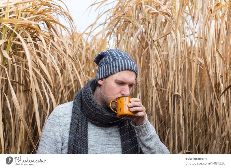 Human being Nature Man Blue Winter Face Adults Yellow Movement Grass Natural Gray Masculine Wild Field Hiking