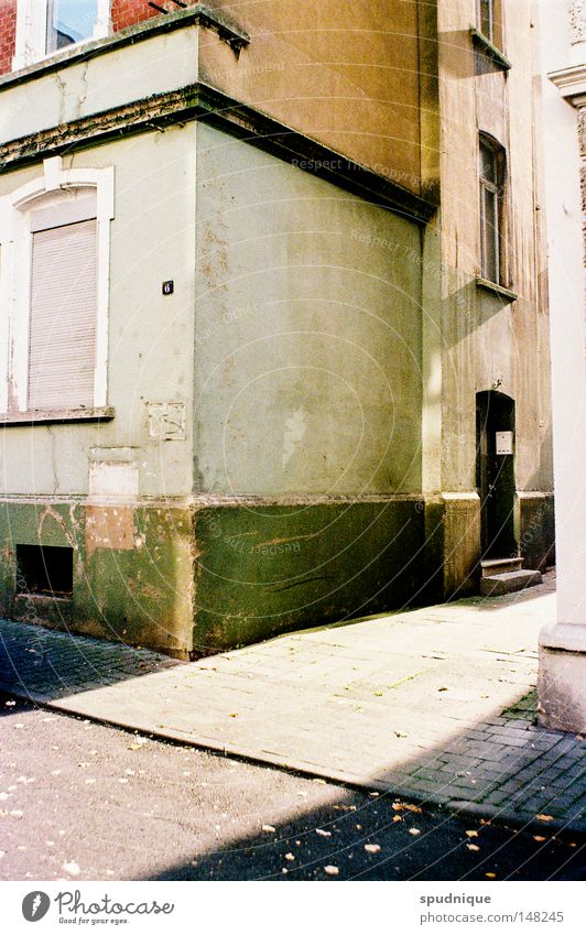 Beautiful Old City House (Residential Structure) Loneliness Street Life Window Dirty Door Gloomy Peace Derelict Farm Sidewalk Entrance