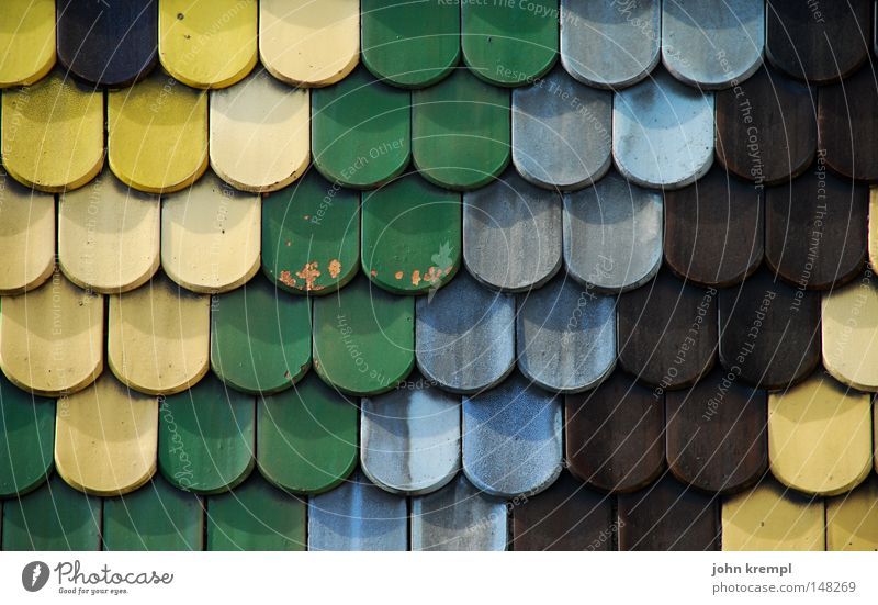 Green Blue Yellow Brown Roof Monument Landmark Vienna Roofing tile House of worship Symbols and metaphors Art St. Stephen's Cathedral