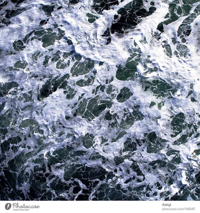 Water Ocean Movement Waves Elements Surface of water White crest The deep Agitated Whirlpool Sea water Curls Scrabble about Navigable water Ocean currents