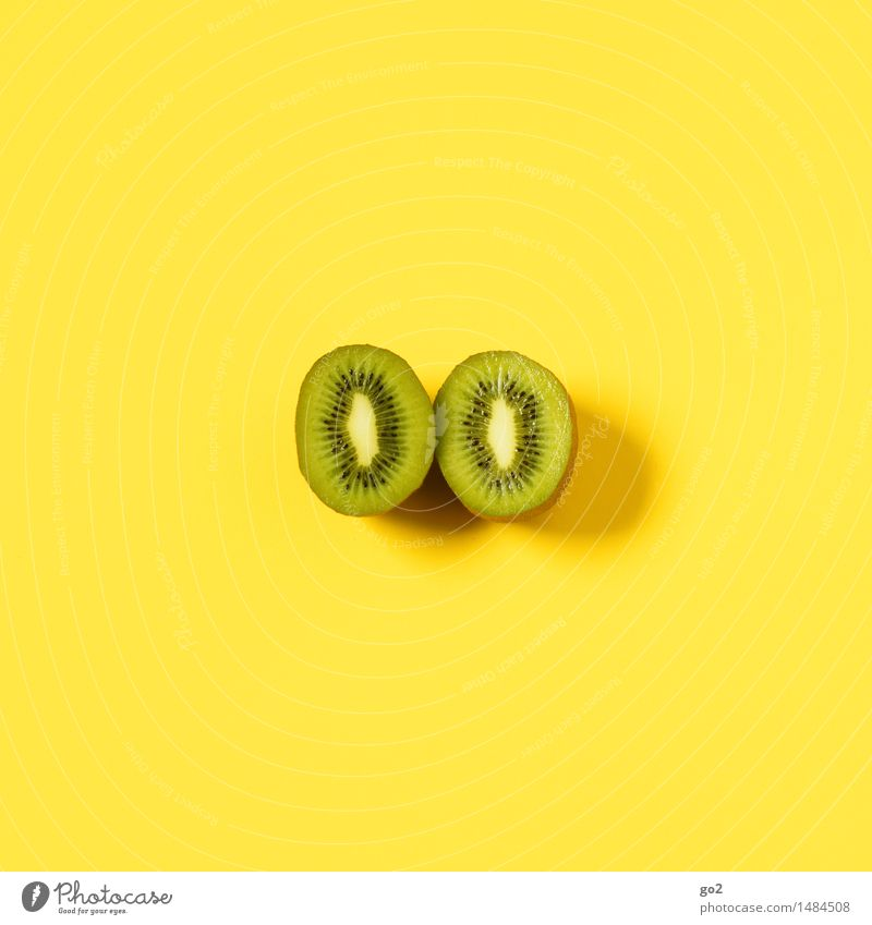 kiwi Food Fruit Kiwifruit Nutrition Organic produce Vegetarian diet Diet Fasting Healthy Eating Life Esthetic Simple Fresh Delicious Juicy Yellow Green
