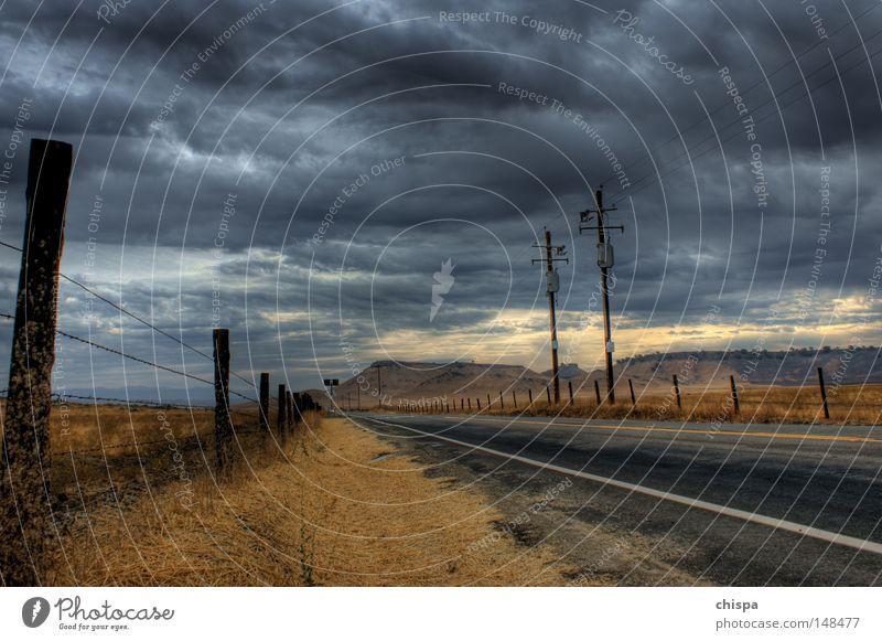 it never rains in southern california Rain Clouds Drought Country road California Yosemite National Park USA San Francisco Street