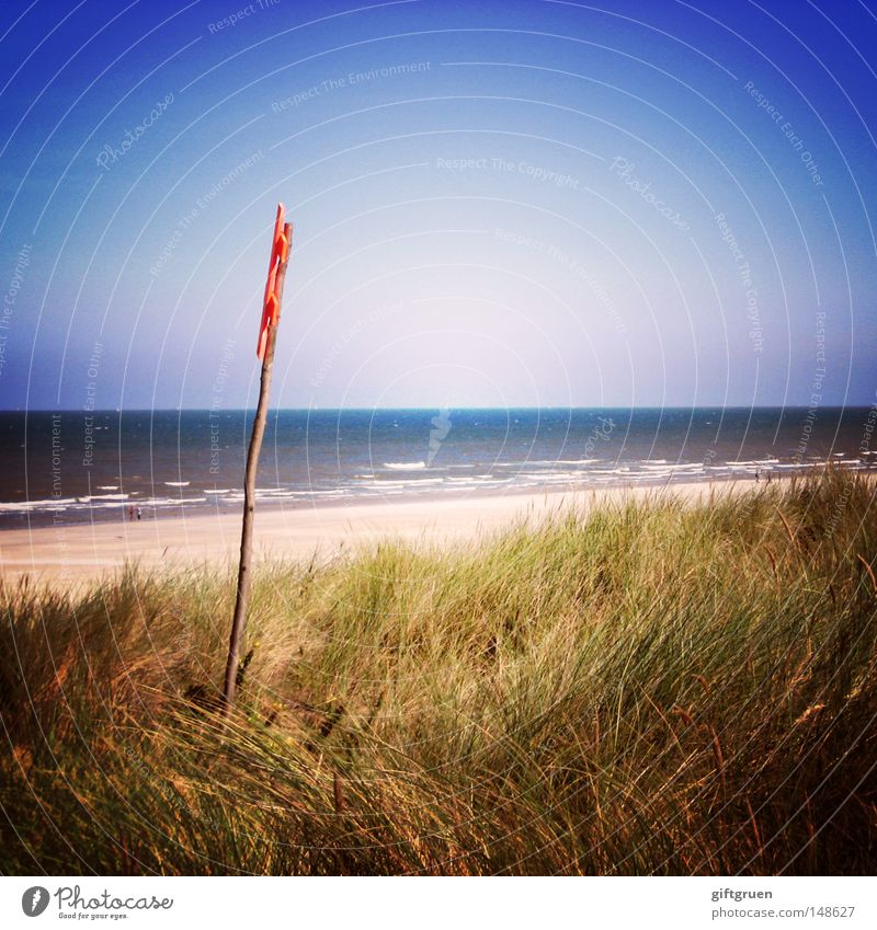 langoog Langeoog North Sea Beach Sandy beach Ocean Coast East Frisland East Frisian East frisian island Vacation & Travel Summer Tourism Lomography Germany
