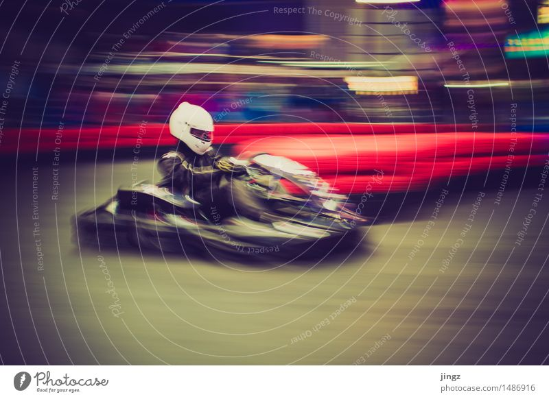 Pull! Pull! Pull! Pull! Go-kart Sports Motorsports Sporting event Human being Man Adults 1 Driving Speed Joy Concentrate Camp follower Focus on Fix Driver