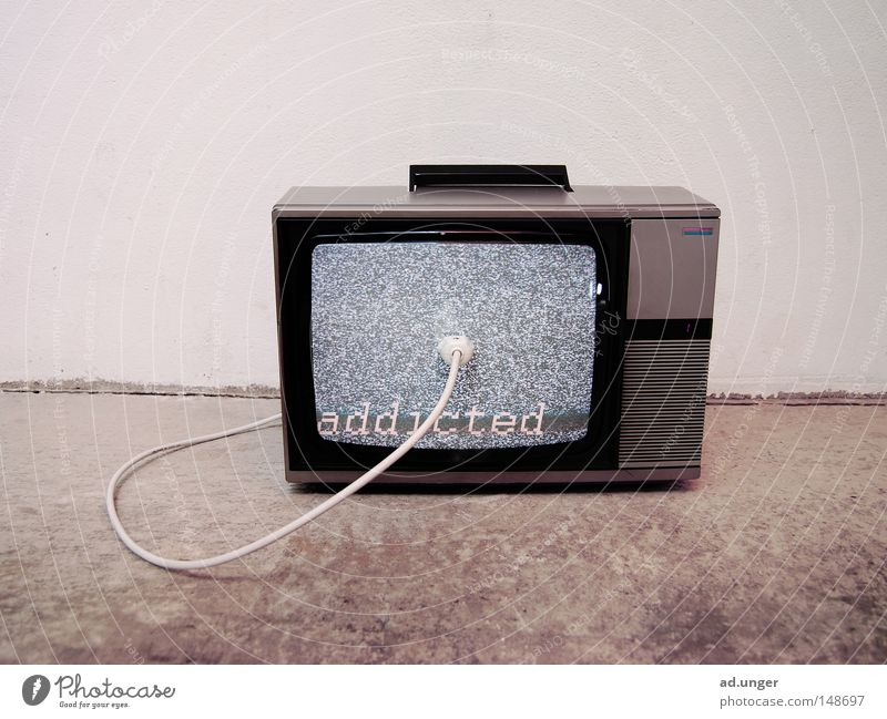 inner circle Television Dependence Media Portable Hissing Electricity Electrical equipment Technology Communicate addicted Sacrifice