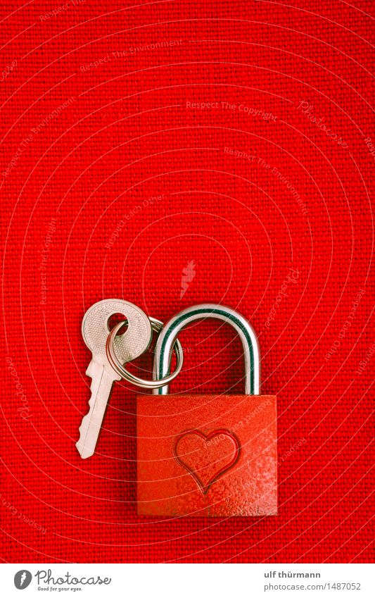 lock of love Valentine's Day Metal Sign Heart Lock Key Emotions Joy Happy Sympathy Friendship Together Love Infatuation Loyalty Romance Relationship