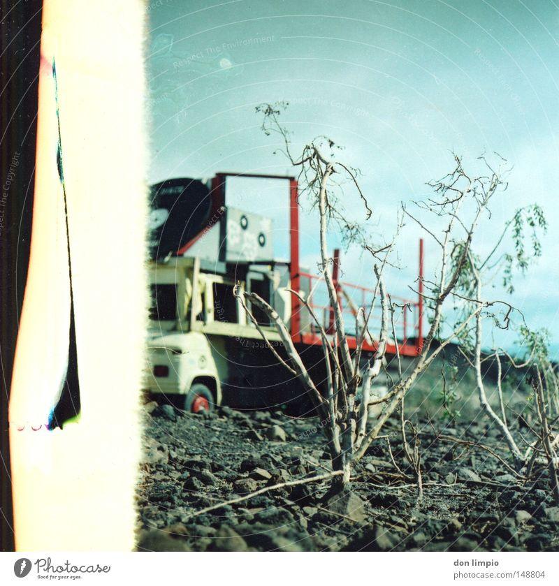 Stone Car Bushes Motor vehicle Club Truck Analog Record Medium format Fuerteventura Rebuild Roll film