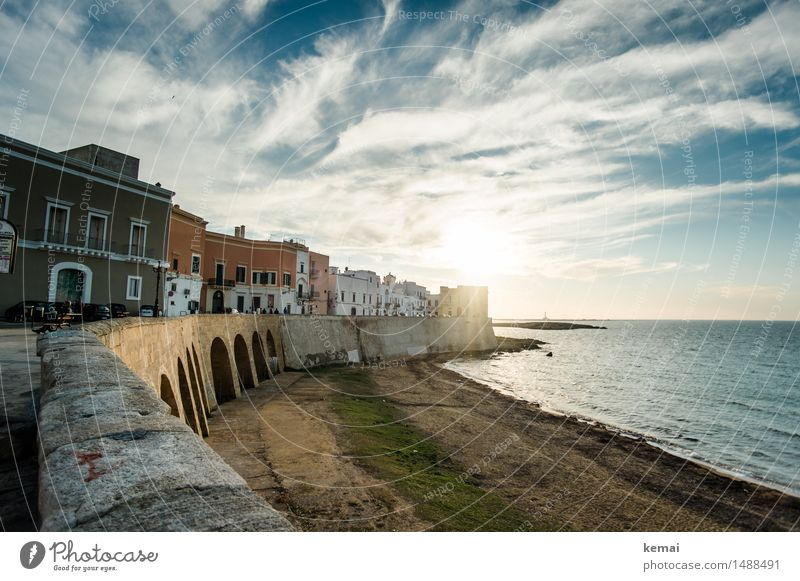 Sky Vacation & Travel Beautiful Summer Sun Ocean Clouds Calm House (Residential Structure) Beach Wall (building) Emotions Wall (barrier) Exceptional Freedom