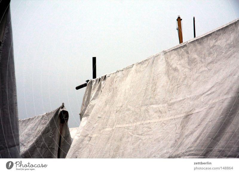 Autumn Sadness Watercraft Roof Grief Cloth Dry Distress Textiles Tent Covers (Construction) Rag November Sailboat Yacht October