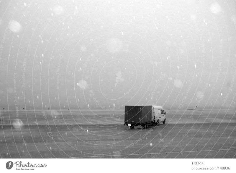Rainy Days Cold Snow Truck Greece Autumn Thunder and lightning Weather Harbour