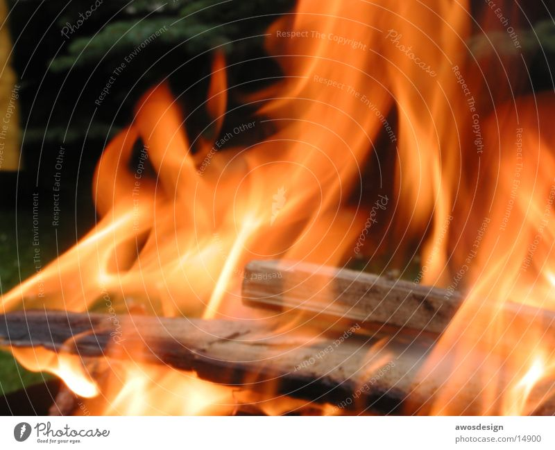 Wood Warmth Blaze Physics Burn Flame Fireplace