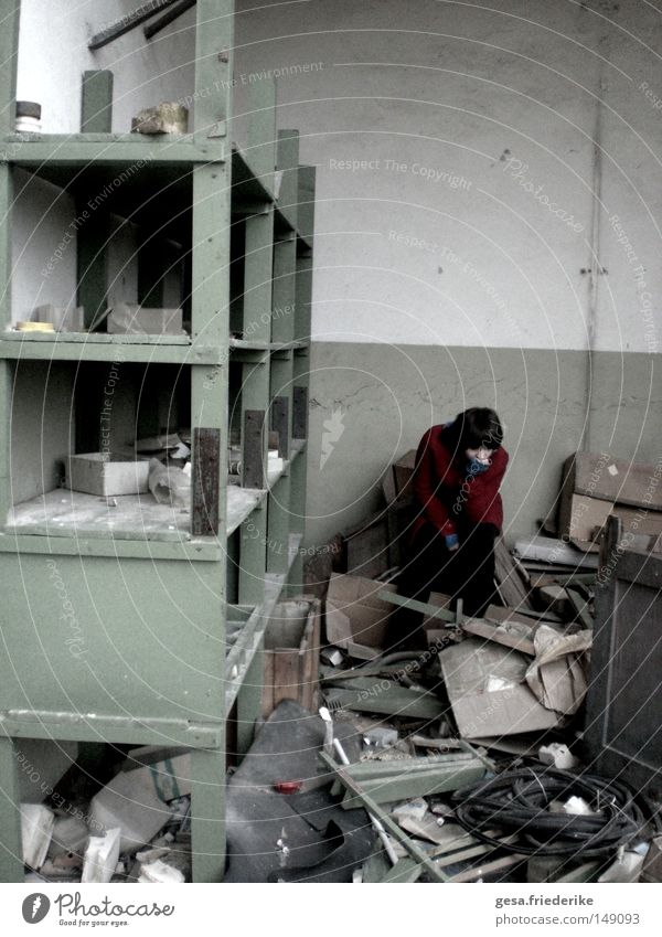 Gloomy Broken End Derelict Decline Past Chaos Devastated