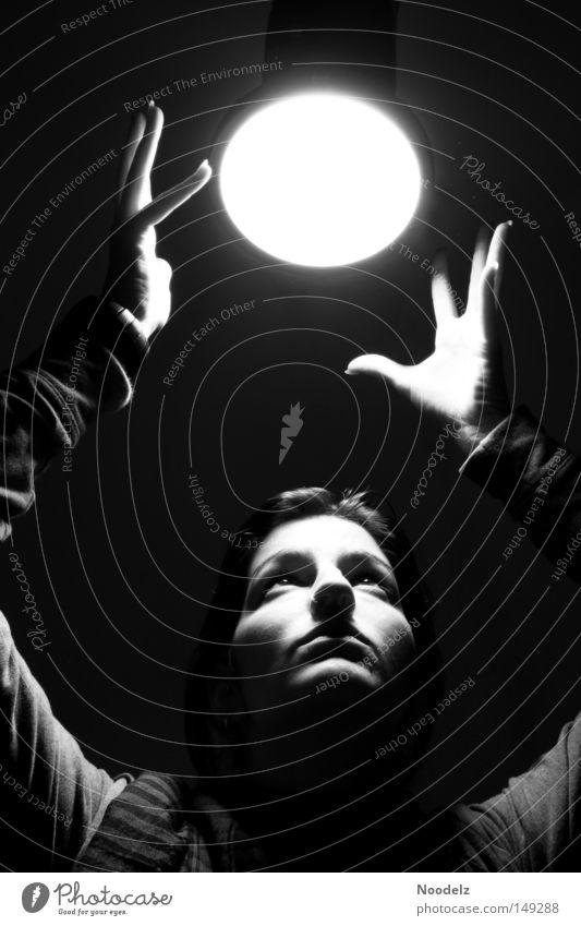 Woman Human being Hand White Black Gray Moon Light Workshop Photo shoot