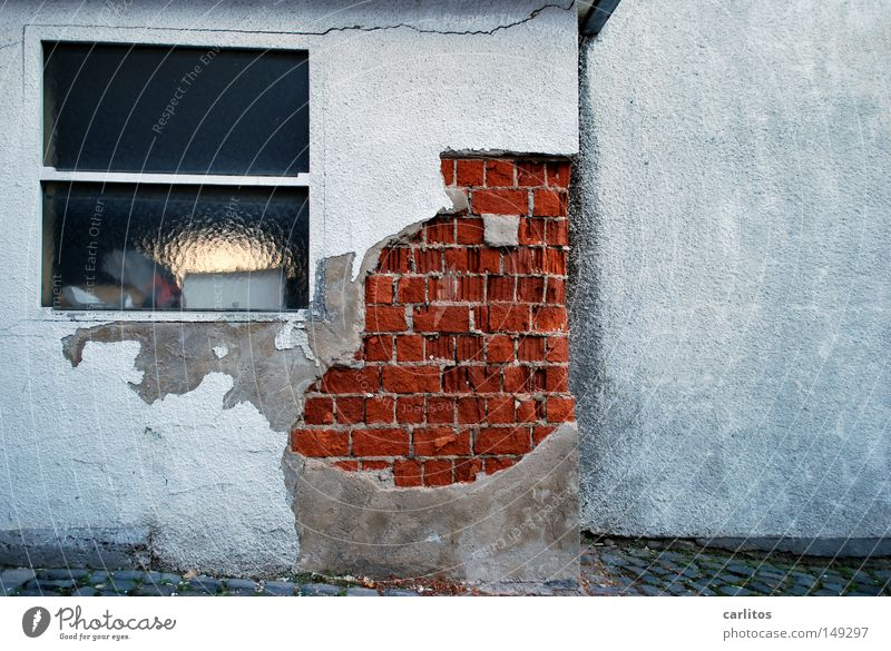Far-off places Wall (building) Motor vehicle Driving Transience Anger Derelict Brick Decline Parking lot Aggravation Plaster Damage Driving school