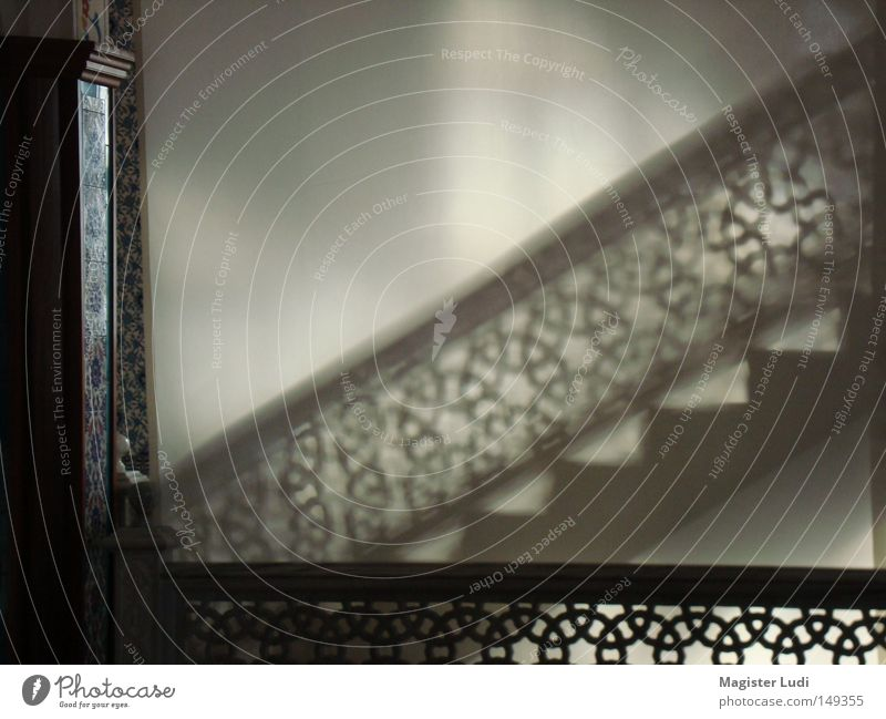 Stairs Mysterious Shadow Visual spectacle Temple Mosque House of worship Hint