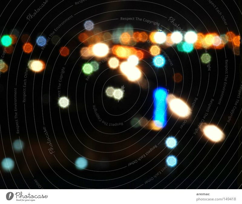 dots Light Night Black Multicoloured Background picture Abstract Blur Long exposure