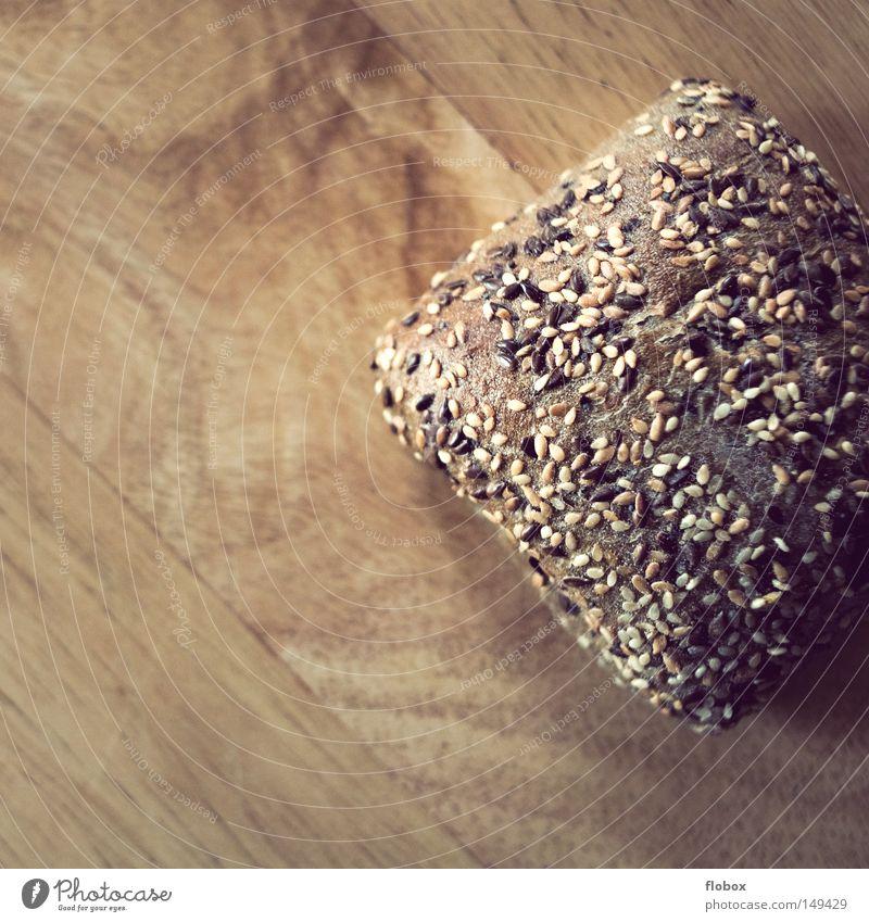 Cut Roll Bread Bakery Fresh Grain Scrap metal Kernels & Pits & Stones Ecological Healthy Wood Wood grain Pattern Subsoil Board Breakfast Food Delicious