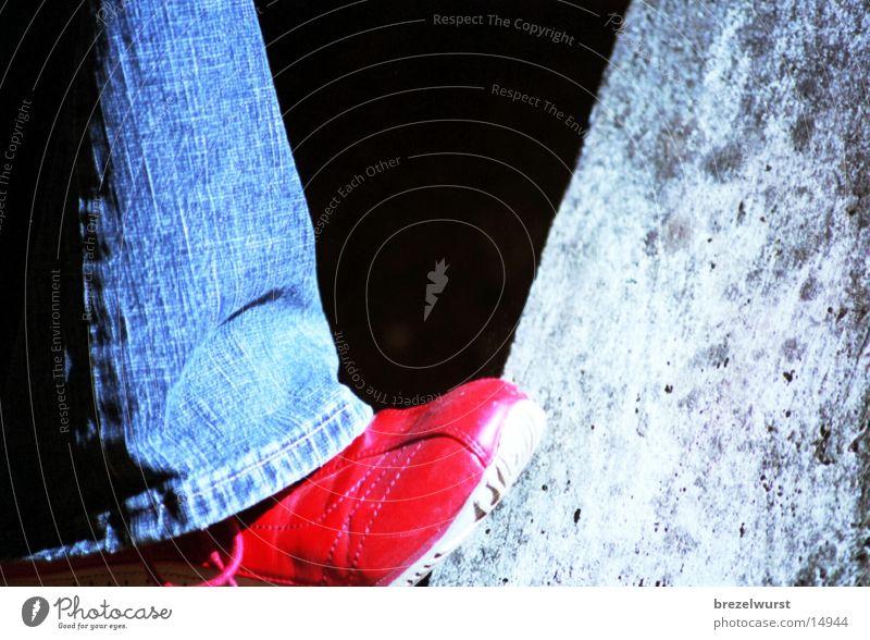Red Girl Feet Footwear Things Sneakers