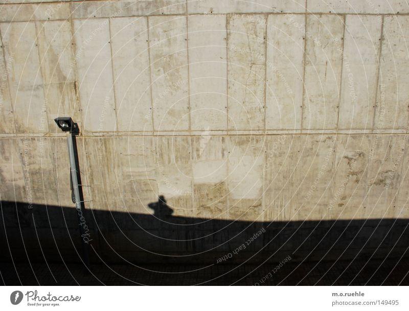Wall (building) Wall (barrier) Concrete Industry Modern Lantern Barcelona Shadow play