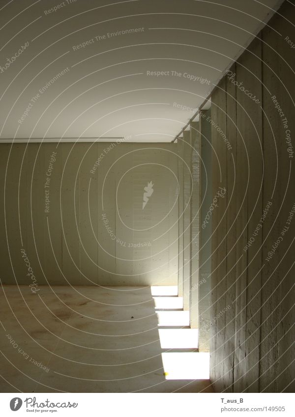 idea Light Shadow Concrete block Column Sunlight Perspective Wall (building) Modern Gray scale value