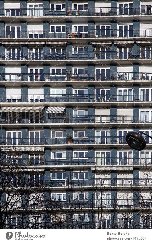 inconspicuous detail | search picture: red box Lifestyle City trip Living or residing Flat (apartment) Bushes Foliage plant Paris Capital city Downtown