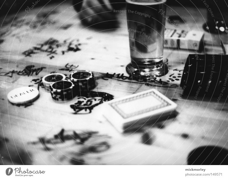 Joy Playing Wood Happy Moody Money Signs and labeling Table Empty Alcoholic drinks Bar Beer Brave Cigarette Society Furrow