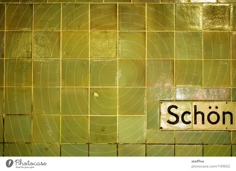 Green Beautiful Joy Yellow Wall (building) Characters Tile Typography Word