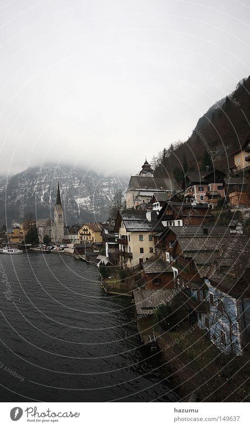 Hallstatt Salzkammergut Hallstadt Travel photography Winter Clouds Historic Österreich Cultural Landscape Eine Reise