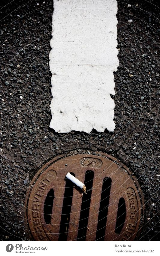 Street Lanes & trails Metal Feet Line Dirty Characters Broken Floor covering Stripe Letters (alphabet) Search Communicate Smoking Symbols and metaphors Illustration
