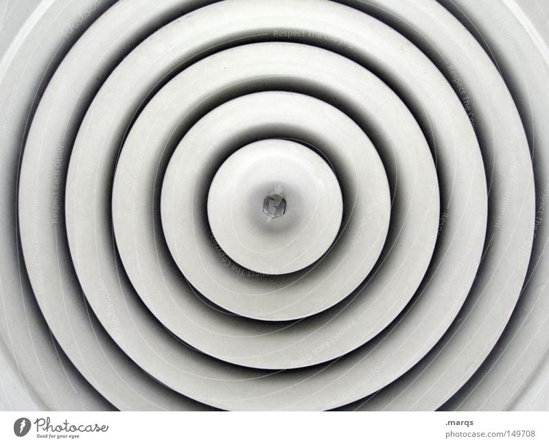 White Gray Building Line Metal Architecture Design Circle Esthetic Round Clean Pure Uniqueness Exceptional Abstract