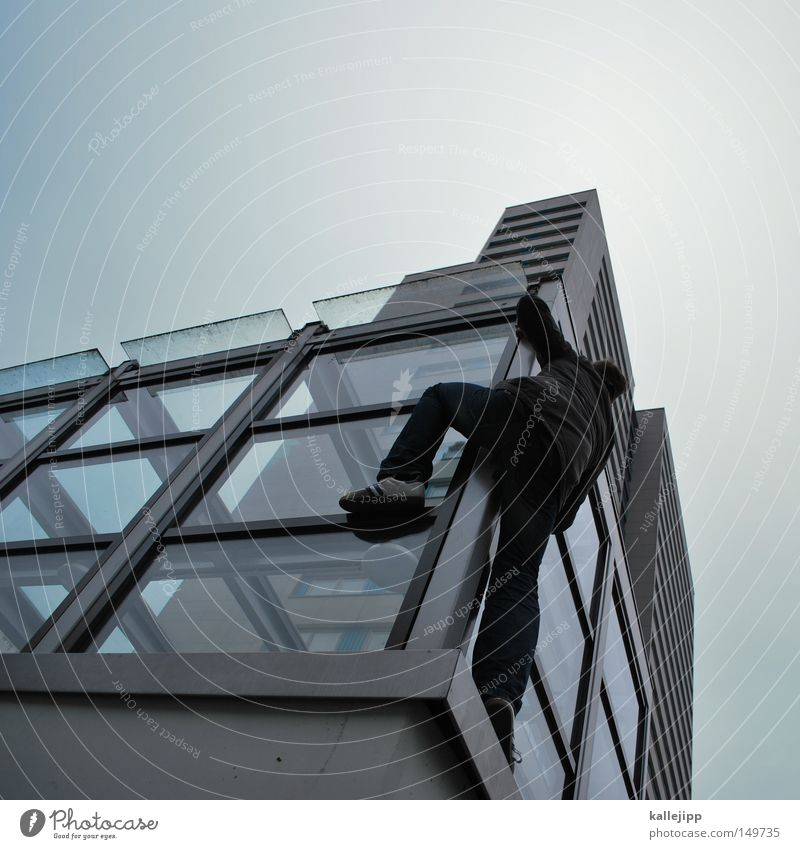 Human being Man Hand House (Residential Structure) Window Mountain Emotions Berlin Architecture Jump Lake Air Line Dance Glass Flying