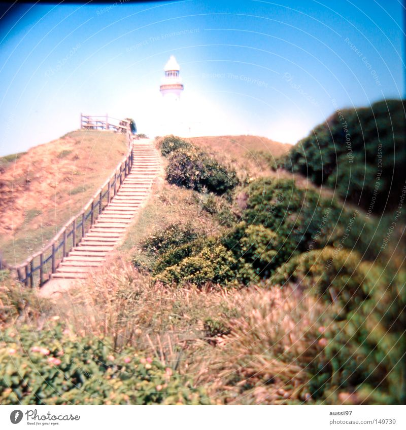 Lanes & trails Bay Navigation Lighthouse Australia Steep Cape Beacon Promontory