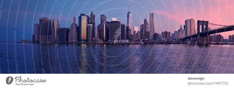 Manhattan panorama Sky Vacation & Travel City Beautiful Summer Water Architecture Building Freedom Earth Horizon Living or residing Power High-rise Success