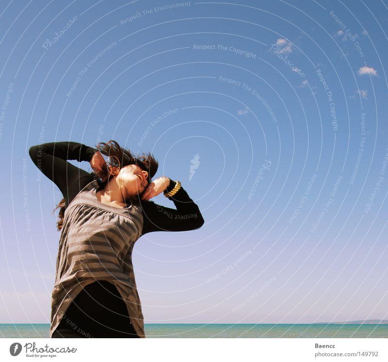 Sky Ocean Relaxation Wind Energy industry Joie de vivre (Vitality) Emotions Hop