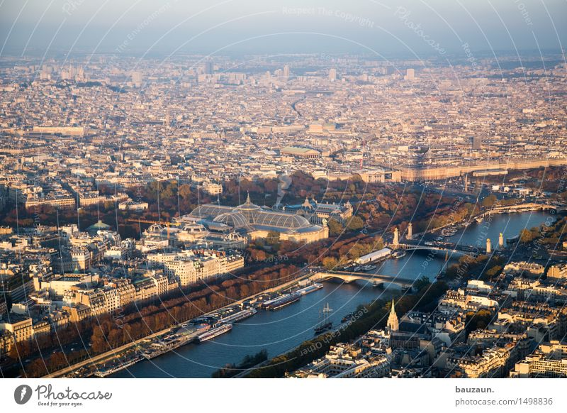 shadow. Vacation & Travel Tourism Trip Far-off places Sightseeing City trip Summer Sun Sky Beautiful weather Paris France Town Capital city Manmade structures