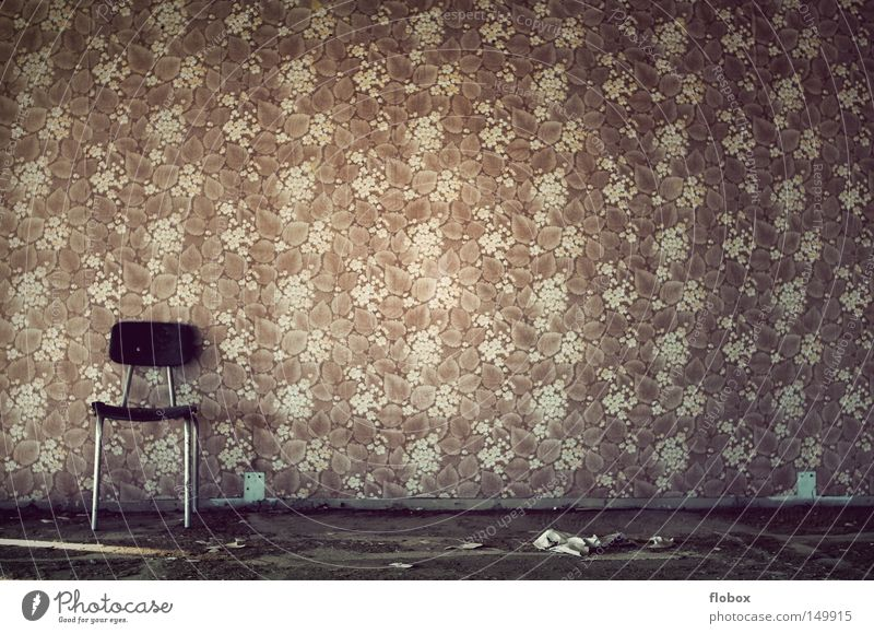 Old Loneliness House (Residential Structure) Room Autumn Warmth Building Lighting Places Paper Empty Retro Chair Romance Factory Derelict