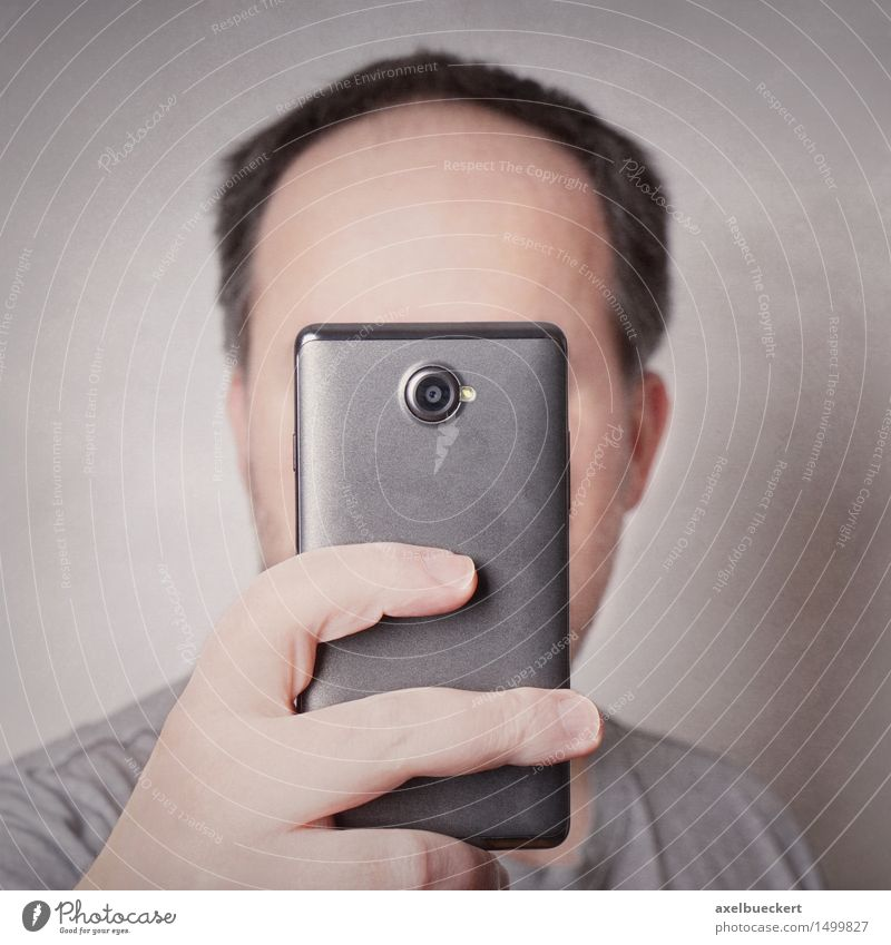 Human being Man Joy Adults Funny Lifestyle Masculine Leisure and hobbies Photography Camera Cellphone Hip & trendy Square Identity Humor PDA