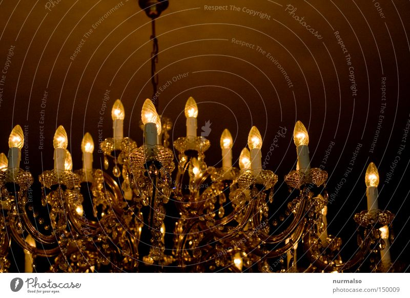 the light will go out. Light Lamp Candlestick Chandelier Bright Hang Beautiful Grand Monarchy Emotions Long exposure Blanket Old Treetop Castle King
