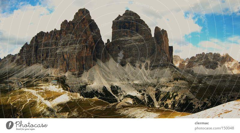 Vacation & Travel Mountain Italy Alps Climbing Italian Alps Alpine pasture Dolomites