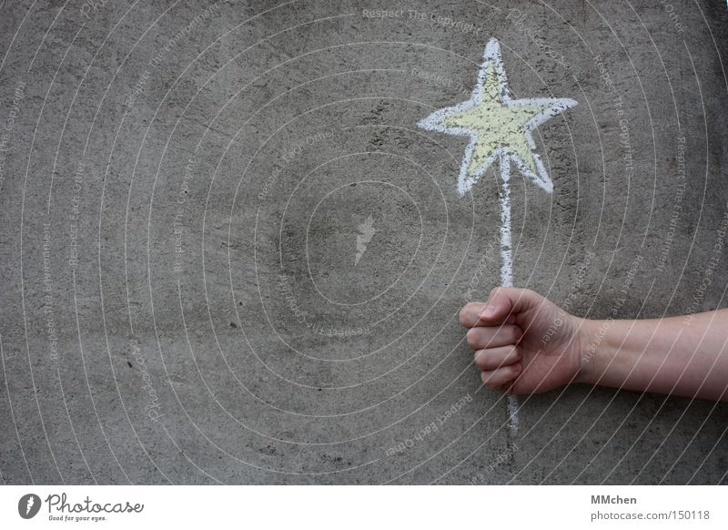 Star Christmas & Advent Hand White Yellow Happy Gray Graffiti Birthday Christmas decoration Star (Symbol) Gift Desire Chalk Christmas star Congratulations
