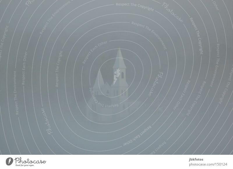 White Calm Far-off places Window Snow Gray Religion and faith Fog Church Gloomy Tower Point Grief Canada Bell Sunday