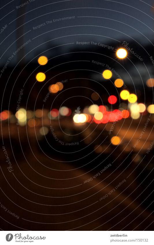 Moody Farm Night Traffic infrastructure Dinner Illuminate Illumination Point of light Optician Mood lighting