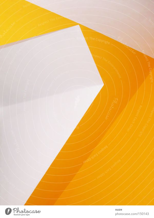 White Colour Yellow Wall (building) Style Interior design Art Line Room Design Modern Illustration Simple Clarity Tilt Diagonal
