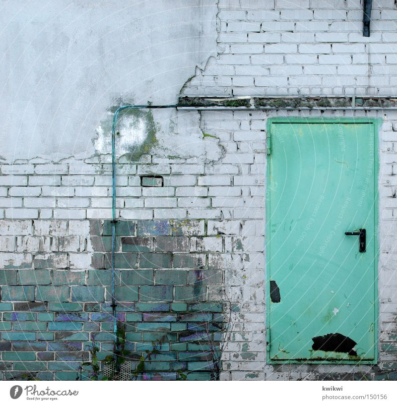 Old House (Residential Structure) Wall (building) Life Wall (barrier) Work and employment Door Living or residing Industry Industrial Photography Derelict Gate