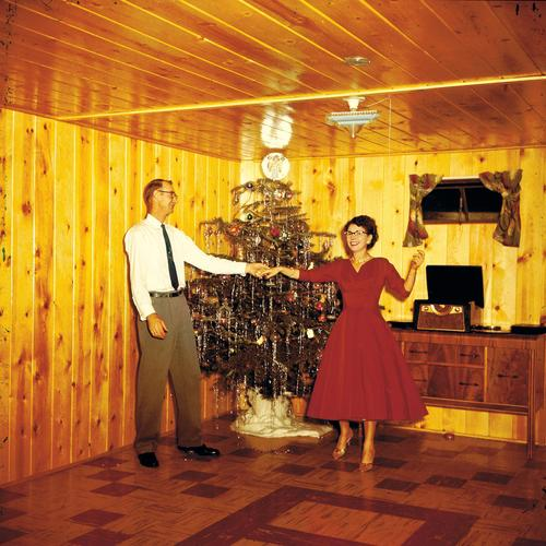 Christmas fun Joy Happy Harmonious Party Event Dance Couple Love Together Trust Infatuation Relationship Whimsical Christmas tree Reference Party space Iconic