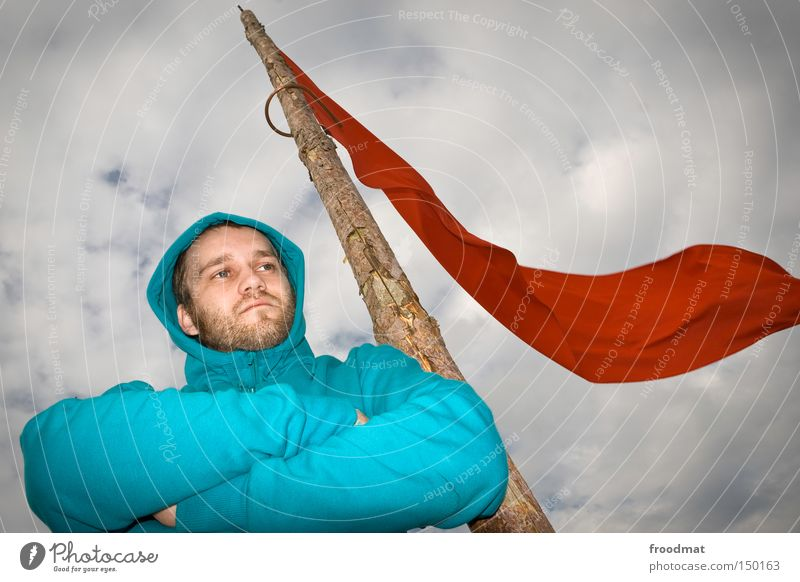 Utopian Socialism Communism Flag Red Hongkong Politics and state Sky Man Hooded (clothing) Moral Communicate Community service froodmat Fight statement