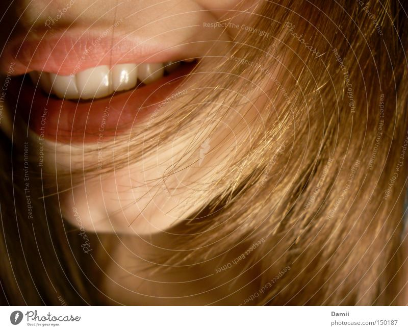 Red Joy Happy Laughter Hair and hairstyles Contentment Happiness Mouth Friendliness Teeth Lips Chin Relief Human being