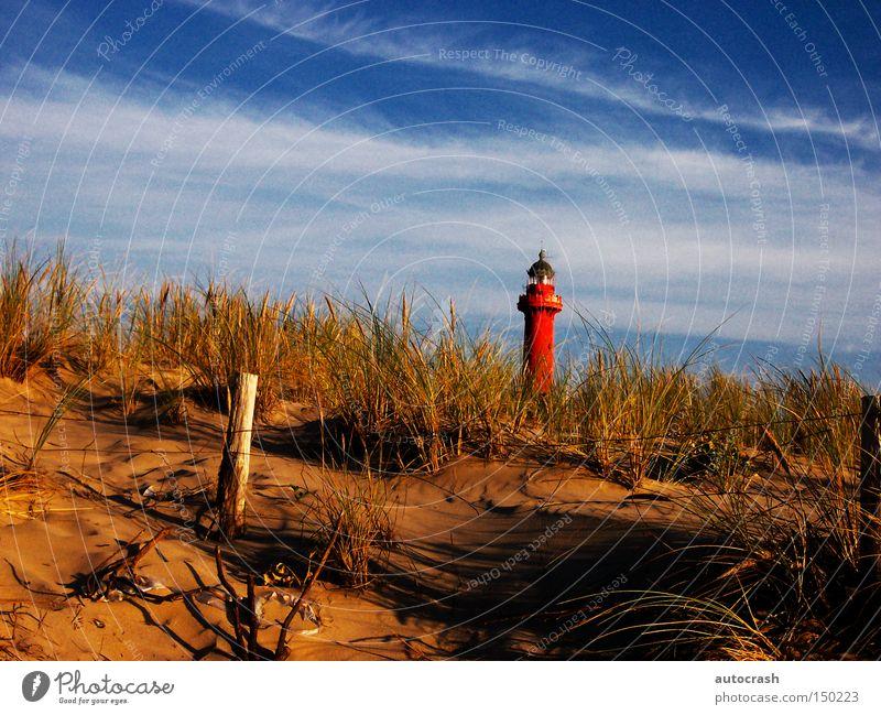 Summer Beach Grass Coast Tower Harbour Beach dune Dune Lighthouse